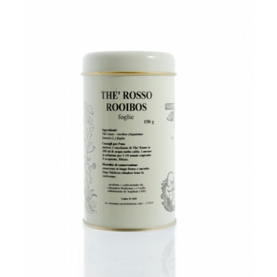 THE ROSSO ROOIBOS foglie 150g in BARATTOLO