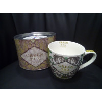 GREEN TEA tazza 10x10+box