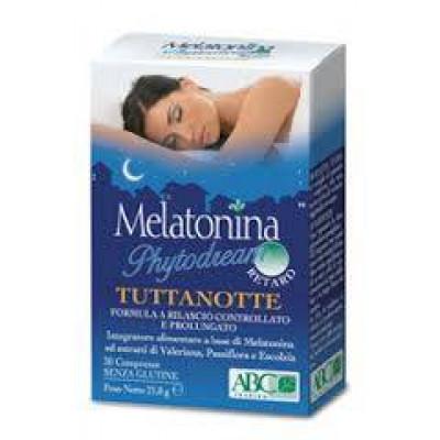 Melatonina Phytodream Tuttanotte Retard 30 compresse in blister