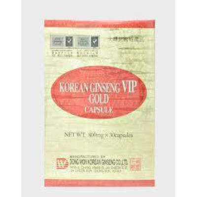 Ginseng VIP -30 capsule in blister