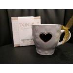 Doni-Tazzina Ceramica con candela (cera italiana)
