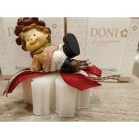 GNOMO -Saponetta Decorata con piccolo Gnomo Amorevole