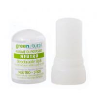 Greenatural- Stick allume di potassio 60 gr