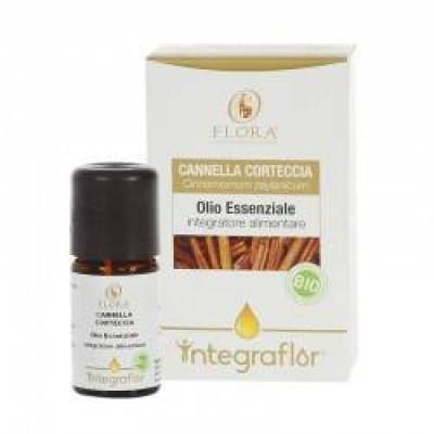 INTEGRAFLOR CANNELLA CORTECCIA 5 ml, olio ess. ITCDX BIO