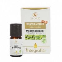 INTEGRAFLOR ORIGANO E MENTA 5 ml, olio ess. ITCDX BIO