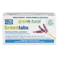 Greenatural- Greentabs 24 pz LAVATRICE