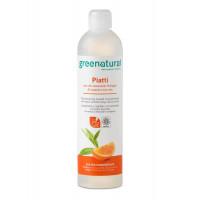 Greenatural- Piatti e stoviglie Arancio-500 ml