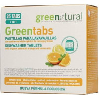 Greenatural- Greentabs 25 pz LAVASTOVIGLIE