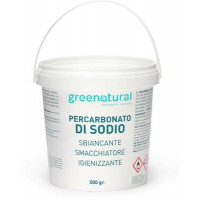 Greenatural- Percarbonato di sodio 500 gr