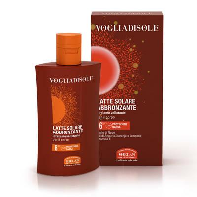VOGLIA DI SOLE-Latte Solare Abbronzante SPF6 200ml