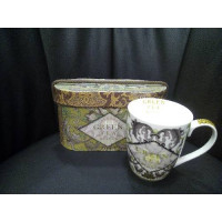 GREEN TEA set 2 mug+box