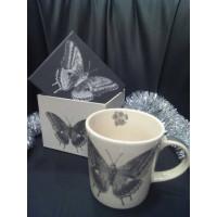 FIORI E FARFALLE Mug 0,35l+box