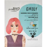 EMILY maschera viso pelle secca Relax and Fun 15