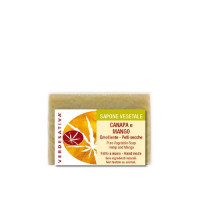Sapone Canapa e Mango-Emolliente-Pelli secche g100