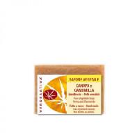 Sapone Canapa e Camomilla-Emolliente-Pelli sensibili g100